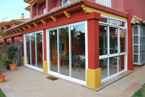 Carpinter a aluminio guadalajara esteban cortijo - Cerramientos de terrazas en aluminio ...